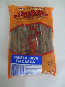Canela Java em Casca Jomil